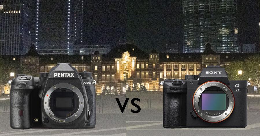 Shootout ISO Tinggi: Pentax K-3 III vs. Sony a7 III
